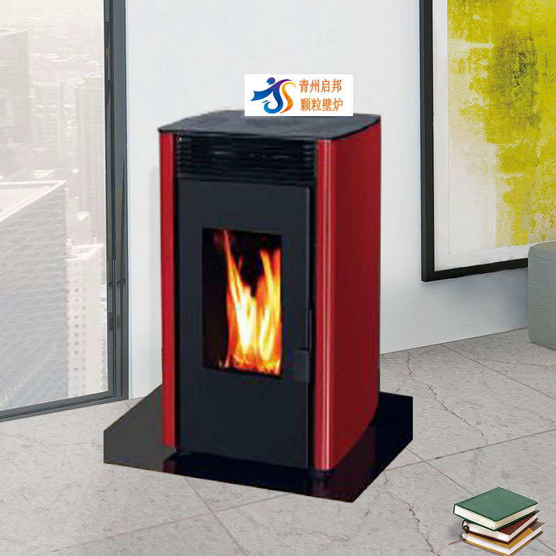 Qingzhou qibang environmental protection burning wood granule biomass hot stove QBRF-80